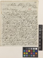 Letter from Alexander Gordon to Sir William Jackson Hooker; from Mobile, Alabama, United States of America; 17 Apr 1845; four page letter comprising four images; folio 210