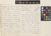 Letter from J.H.[John Henry] Lefroy to Sir Joseph Dalton Hooker; from Bermuda; 8 May 1872; four page letter comprising two images; folio 51