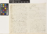 Letter from J.[John] Macoun to Sir Joseph Dalton Hooker; from Belleville, Canada; 7 Aug 1866; six page letter comprising four images; folios 272 - 273