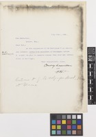 Letter from Conway MacMillan to the Royal Botanic Gardens, Kew; from The University of Minnesota, Minneapolis, [United States of America]; 12 July 1902; one page letter comprising one image; folio 420
