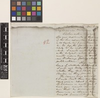 Letter from F.[Francis] Boott to Sir William Jackson Hooker; from 24 Gower Street, [London, England]; 3 Nov 1842; two page letter comprising two images; folio 42