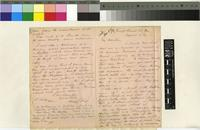 Letter from Harry Bolus to Sir Joseph Dalton Hooker; from the Cape of Good Hope; 21 Aug 1869; two page letter comprising one image; folio 280