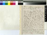 Letter from E. Tidmarsh to Sir William Thiselton-Dyer; from Grahamstown, South Africa; 23 Feb 1883; one page letter comprising one image; folio 1549