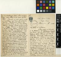 Letter from Henry Harold Welch Pearson to Sir William Thiselton-Dyer; from the South African College, Cape Town; 8 Dec 1903; six page letter comprising four images; folios 333-334