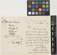 Letter from William Hancock to the Royal Botanic Gardens, Kew; from Inspectorate General of Customs, Peking [Beijing, China]; 5 Dec 1886; two page letter comprising one image; folio 478