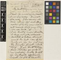 Letter from S.[Wilhelm Sulpiz] Kurz to Dr [George] King; [author address unknown]; 12 Aug 1871; two page letter comprising two images; folio 989