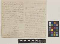 Letter from J.E.[John Eddowes] Bowman to Sir William Jackson Hooker; from Elm Place, Hulme, Manchester, [England]; 15 Nov 1841; four page letter comprising two images; folio 53