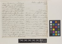 Letter from J.[James] Forbes to Sir William Jackson Hooker; from Woburn Abbey Gardens, [Bedfordshire, England]; 5 Mar 1841; seven page letter comprising four images; folio 124