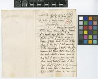 Letter from John Maclean to Sir William Jackson Hooker; from Lima [Peru]; 10 Dec 1845; two page letter comprising two images; folio 180