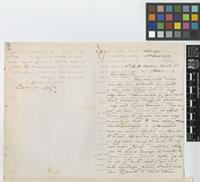 Letter from Robert B. White to Sir Joseph Dalton Hooker; from Rio Negro [Colombia]; 13 May 1872; four page letter comprising two images; folio 408