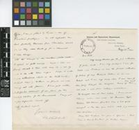 Letter from F.A.[Frank Arthur] Stockdale to Sir Arthur William Hill; from Science and Agriculture Department, The Botanic Gardens, Georgetown, Demerara, British Guiana [Guyana]; 25 May 1912; two page letter comprising one image; folio 169