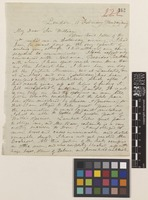 Letter from A.[Asa] Gray to Sir William Jackson Hooker; from London, [England]; 11 Feb 1839; four page letter comprising four images; folio 222