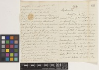 Letter from John Richardson to Sir William Jackson Hooker; from [Haslar Naval Hospital, Hampshire, England]; c.1839; four page letter comprising two images; folio 358
