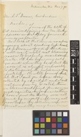 Letter from Charles L. Mann to Stephen Troyte Dunn; from Milwaukee, [United States of America]; 7 Nov 1898; two page letter comprising two images; folio 510