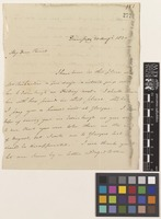 Letter from John Richardson to [Sir William Jackson Hooker]; from Dumfries, [Scotland]; 30 Aug 1830; two page letter comprising two images; folio 151