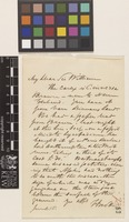 Letter from F.[Francis] Boott to Sir William Jackson Hooker; from [England]; 16 June c.1847; one page letter comprising one image; folio 73