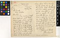 Letter from Walter Lucas to the Royal Botanic Gardens, Kew; from Bloomsbury Square, London; 25 Jan 1904; two page letter comprising one image; folio 162