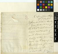 Letter from H.S. Smith to Sir William Jackson Hooker; from the Cape of Good Hope; 17 July 1848; three page letter comprising two images; folio 296