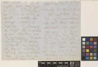 Letter from A.[Archibald] Campbell to Sir William Jackson Hooker; from Darjeeling, [India]; 14 Aug 1849; six page letter comprising four images; folio 40
