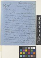 Letter from G.M.[George Marshall] Woodrow to Sir Joseph Dalton Hooker; from Government Botanical Garden, Ganesh Khind, Poona [Pune, India]; 11 Feb 1872; four page letter comprising four images; folios 154 - 155