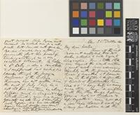 Letter from T.[Thomas] Anderson to Sir Joseph Dalton Hooker; from Kew, [England]; 25 Oct 1860; four page letter comprising two images; folio 5