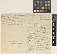 Letter from H.N.[Henry Nicholas] Ridley to Sir William Thiselton-Dyer; from [Botanic] Gardens, Singapore; 19 Mar 1904; four page letter comprising two images; folio 101
