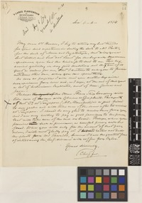 Letter from [Rudolph Herman Christiaan Carel] Scheffer to Sir Joseph Dalton Hooker; from 's Lands Plantentuin, Buitenzorg [Botanic Garden, Bogor, Java, Indonesia]; 6 June 1874; one page letter comprising one image; folio 78/14