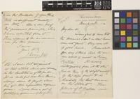 Letter and photograph from L.[Leonard] Wray Junior to the Royal Botanic Gardens, Kew; from Perak Government Museum, Larut, Perak, Straits Settlements [Malaysia]; 10 Mar 1892; seven page item comprising four images; folios 275 - 277
