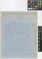 Letter from J.A.[Jose Apolinario] Nieto to Sir Joseph Dalton Hooker; from Córdoba, Mexico; 28 Nov 1872; three page letter comprising three images; folios 176 - 177