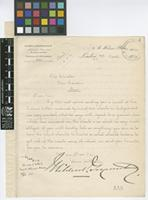 Letter from Mildred, Goyeneche & Co to William Watson; from 8 St Helens Place, London; 7 Mar 1912; two page letter comprising two images; folio 4