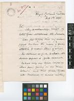 Letter from J.H.[John Hinchley] Hart to Sir William Thiselton-Dyer; from Royal Botanic Gardens, [Trinidad]; 8 Dec 1891; five page letter comprising five images; folios 233 - 235