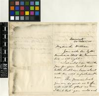 Letter from A. B. Becker to Sir William Jackson Hooker; from the Admiralty; 22 Nov 1858; three page letter comprising of two images; folio 47