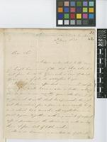 Letter from H. Distin to Sir William Jackson Hooker; from Jamaica, Savanna la Mar; 30 May 1831; four page letter comprising three images; folio 22