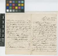 Letter from John Parkinson To Sir William Jackson Hooker; from Cambridge Terrace, Hyde park [London]; 8 July c.1844; four page letter comprising three images; folio 271