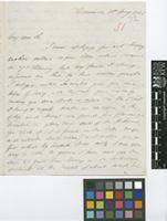 Letter from John Hockin to Sir William Jackson Hooker; from Dominica; 10 May 1845; three page letter comprising two images; folio 51