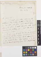 Letter from W.D.[William Dougal] Christie to the Royal Botanic Gardens, Kew; from Hillingdon, Uxbridge, [England]; 17 Jan 1859; four page letter comprising four images; folio 92