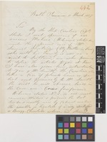 Letter from Nathaniel Wilson to Sir William Jackson Hooker; from Bath, Jamaica; 11 Mar 1857; two page letter comprising two images; folio 442