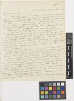 Letter from Charles S.[Sandbach] Parker to Sir William Jackson Hooker; from Trinidad [Trinidad and Tobago]; 8 July 1824; four page letter comprising four images; folio 30