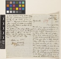 Letter from F. Gilbert White to [Sir William Jackson Hooker]; from Abbots Ann, Andover, [England]; 'St John's Day', [27 Dec] 1849; four page letter comprising two images; folio 489
