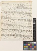 Letter from W.C. Mylne to Sir William Jackson Hooker; from New Orleans, [United States of America]; 3 Dec 1833; one page letter comprising one image; folio 142
