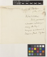 Letter from George Bancroft to Sir William Jackson Hooker; from 90 Eaton Square, [England]; 9 May 1858; two page letter comprising two images; folio 13