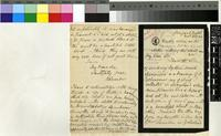 Letter from Katherine Saunders to the Royal Botanic Gardens, Kew; from Tongaat, Natal, South Africa; 2 Nov 1894; three page letter comprising two images; folio 1451