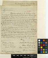 Letter from Andrew Smith to Sir William Jackson Hooker; from South African Museum, Cape of Good Hope; 27 Sep 1825; one page letter comprising one image; folio 215