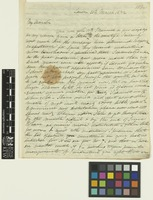 Letter from Robert Wight to Sir William Jackson Hooker; from London, [England]; 23 Mar 1832; four page letter comprising four images; folio 157