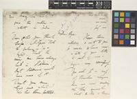 Letter from G.[George] King to Sir William Thiselton-Dyer; from Royal Botanic Garden, Howrah, near Calcutta [Kolkata, India]; 1 July 1882; fourteen page letter comprising eight images; folios 553 - 556