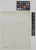 Letter from [Reverend] W. Herbert to Sir William Jackson Hooker; from Spofforth, [North Yorkshire, England]; 25 Oct 1841; two page letter comprising two images; folio 185