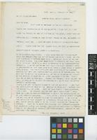 Letter from Edward S. [Sprague] Rand to Sir William Thiselton-Dyer; from Pará, Brazil; 16 Feb 1895; one page letter comprising one image; folio 223