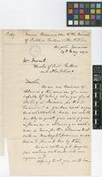 Copy of two letters from Messrs Recuero and Co to William Fawcett; from Kingston, Jamaica; 27 May 1890; two page letter comprising two images; folio 934