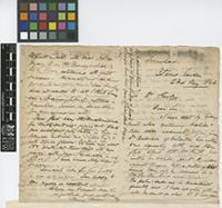 Letter from Henry Prestoe to Sir Joseph Dalton Hooker; from Botanic Garden, Trinidad; 23 May 1866; four page letter comprising two images; folio 391