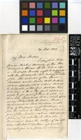 Letter from Leonard Homer to Sir Joseph Dalton Hooker; from Queens Road West, Regent's Park; 29 Nov 1858; two page letter comprising two images; folio 295